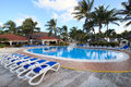 Pool in Sol Cayo Guillermo Royalty Free Stock Photos