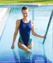 Pool swimming Στοκ φωτογραφίες με δικαίωμα ελεύθερης χρήσης
