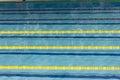 Pool, swimming pool, piscina, piscine, tank, rope, string, twine, chord, line, chorda, swimming, swim, natation, water, aqua Royalty Free Stock Photo