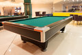 Pool Table Close Up Royalty Free Stock Photo