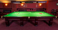 Pool Table, set up for  game Royalty Free Stock Photo