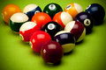 Poolballs Royalty Free Stock Photos