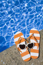 Poolside Photographie stock libre de droits