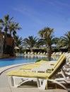 Poolside Resort (Portrait) Royalty Free Stock Photo