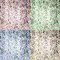Pop-art and mosaic texture Royalty Free Stock Photo