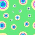 Pop art pattern, abstract seamless texture kaleidoscope  pattern 4 Royalty Free Stock Photo