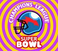 Pop Art Super Bowl Badge