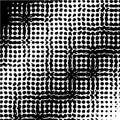 Pop art template, texture. Halftone Dot pattern. Monochrome. Vector illustration