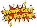 Pop Art Thank God its Friday Sign