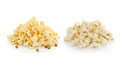 Pop Corn isolated on white background Royalty Free Stock Photo