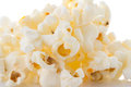 Pop corn isolated Royalty Free Stock Photo