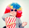 Pop corn time Royalty Free Stock Photo