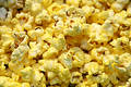 Pop corn up close Stock Photos