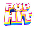 Pop hit - 3d logo