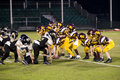 Pop Warner Football Royalty Free Stock Images
