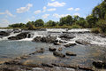 Popa falls at caprivi strip namibia Stock Images