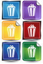 Popcorn - 6 Sticker Stock Images