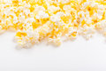 Popcorn background Royalty Free Stock Photo