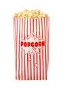 Popcorn Bag isolated Royalty Free Stock Photo