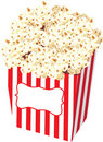 Popcorn Bag Stock Illustration Royalty Free Stock Photos
