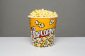 Popcorn bucket Royalty Free Stock Photo