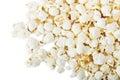 Popcorn isolated Royalty Free Stock Photo