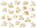 Popcorn isolated Stock Photos