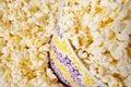 Popcorn in large bucket Royalty Free Stock Photo