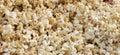 Popcorns beautiful shot of salted Royalty Free Stock Image