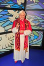 Pope Benedict XVI at Madame Tussaud's museum Stock Photography
