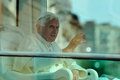 Pope Benedict XVI in Milan on June, 1st 2012 Royalty Free Stock Photo