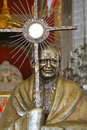 Pope John Paul II Statue Royalty Free Stock Photo