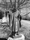 Pope john paul statue Royalty Free Stock Photo