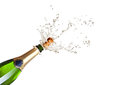 Popping champagne Royalty Free Stock Photo
