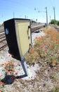 Poppy Flowers Along Railway Tr...