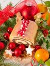 Poppy-seed cake Royalty Free Stock Photo