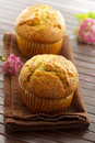 Poppy seed muffins Royalty Free Stock Photo