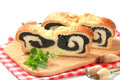 Poppy seed roll Royalty Free Stock Image