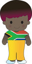 Poppy south africa boy a smiling well dressed young lad wears clothing representative of Royalty Free Stock Image