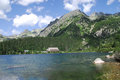 Poprad Lake in the High Tatras