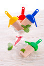Popsicle Stockbild