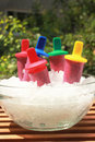 Popsicles Royalty Free Stock Images