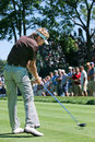 Popular Englishman Ian Poulter Royalty Free Stock Photo
