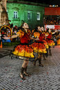 Lisbon Popular Parade Festivities, Old Neighbourhoods Royalty Free Stock Photo