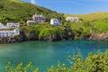 Popular Newquay Atlantic ocean coast, Cornwall, England, United