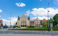 Popular Poznan University Royalty Free Stock Photo