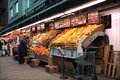 Popular produce stand cathedral parkway station mta subway th street broadway manhattan new york city Stock Image