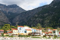 The popular resort city of Ölüdeniz in Turkey Royalty Free Stock Photography