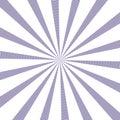 Popular vector sun rays background ultra violet color. Sunburst Pattern. Popular color 2018 year ultra violet. Vector background Royalty Free Stock Photo