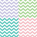 Popular zigzag chevron pattern vector Royalty Free Stock Images